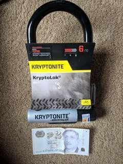 Kryptonite U-Lock