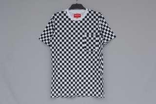 T-shirt Supreme High Checkerboard Limited