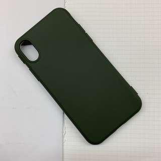Apeel轉售 極簡墨綠手機殼 ixs