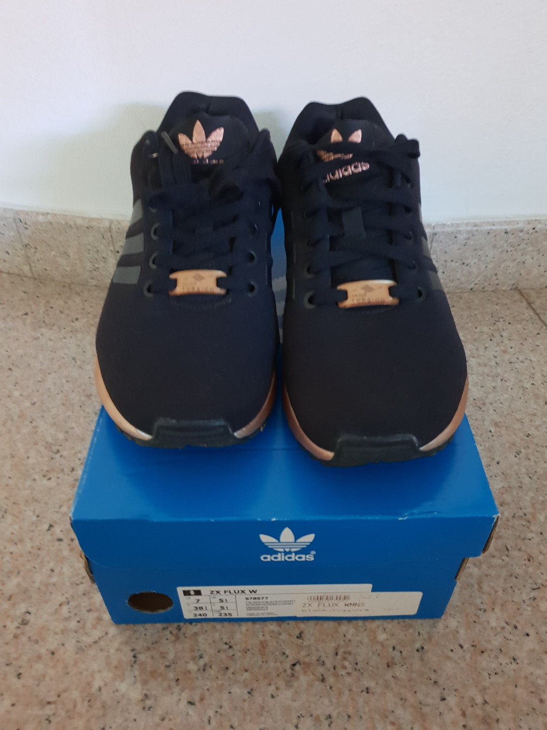 check out 34417 77211 Adidas Originals ZX Flux Copper