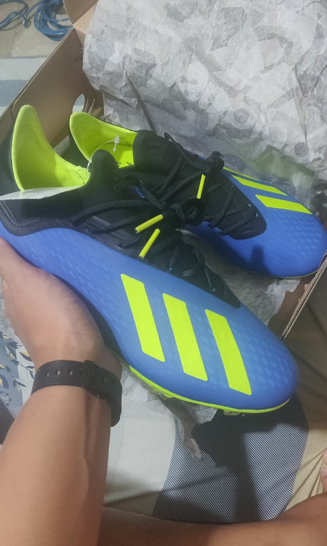 new product 71908 855d8 Adidas Soccer Boots x 18.2 FG