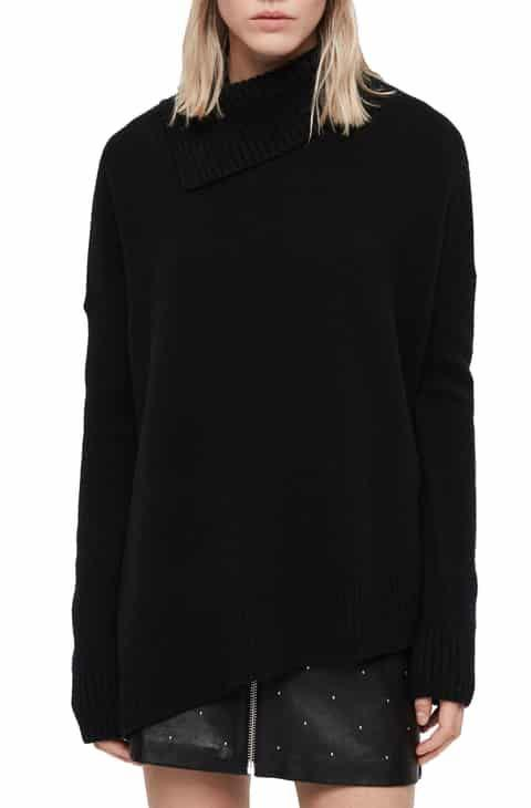 Allsaints Cashmere Sweater Black Small