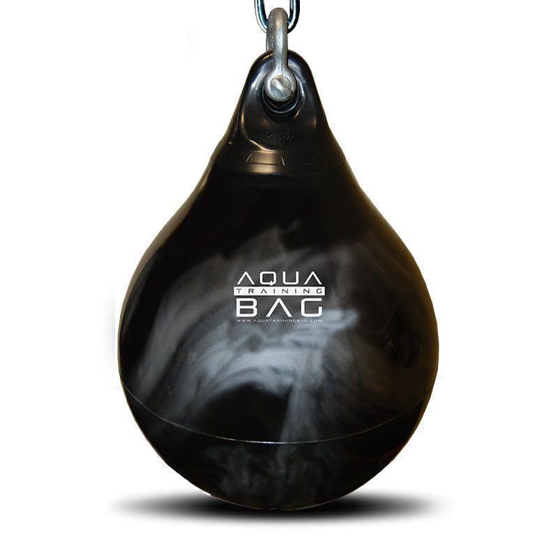 Aqua Punching Bag 21 Black//Silver