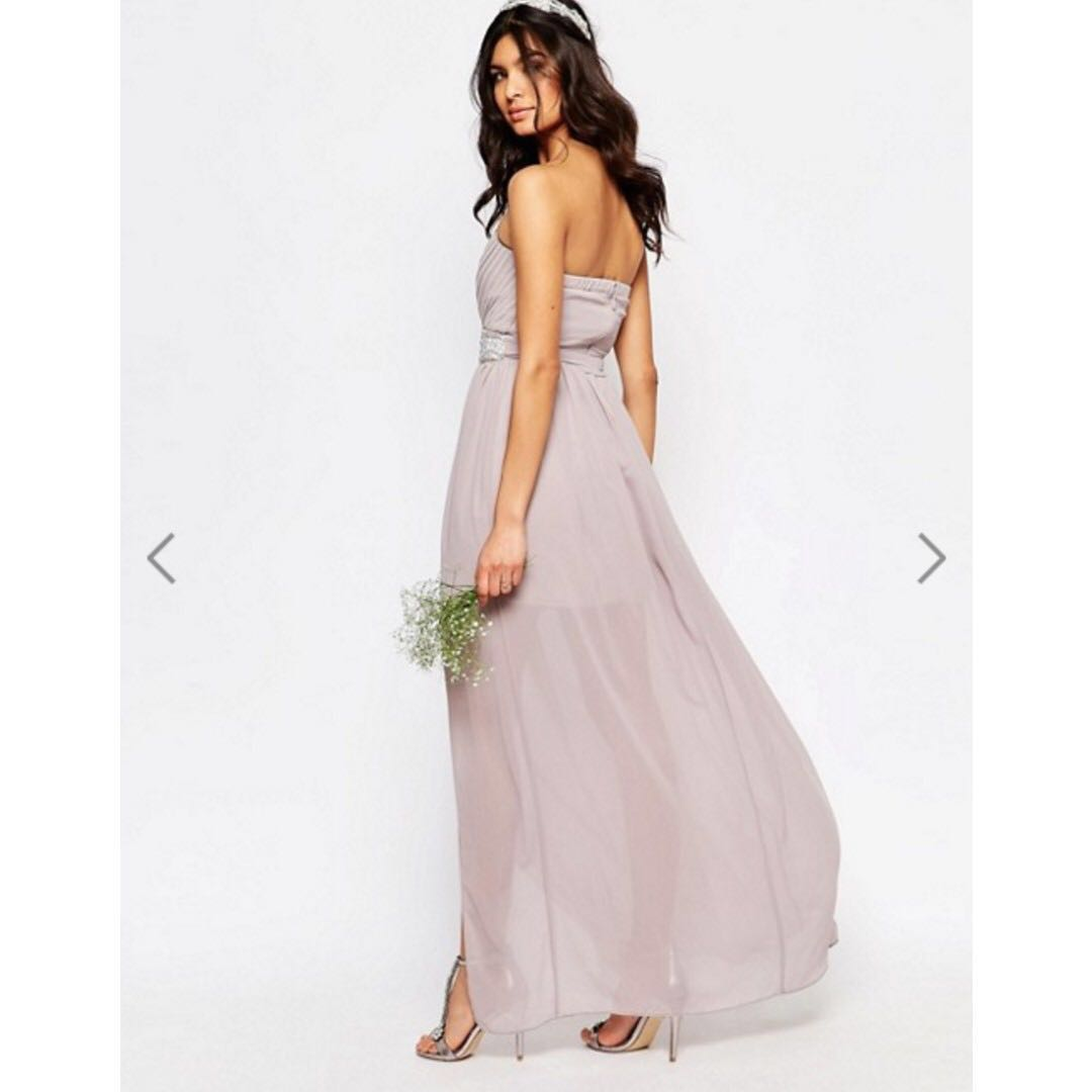 a4f16b179e3 ASOS TFNC Lilac Purple Maxi Wedding Bridesmaid or Evening Dress ...
