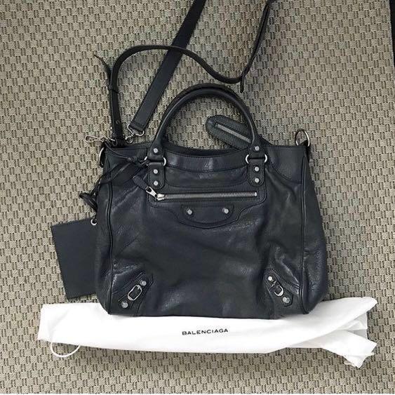 e34663dd24f Balenciaga Velo G12 Grey, Luxury, Bags & Wallets on Carousell