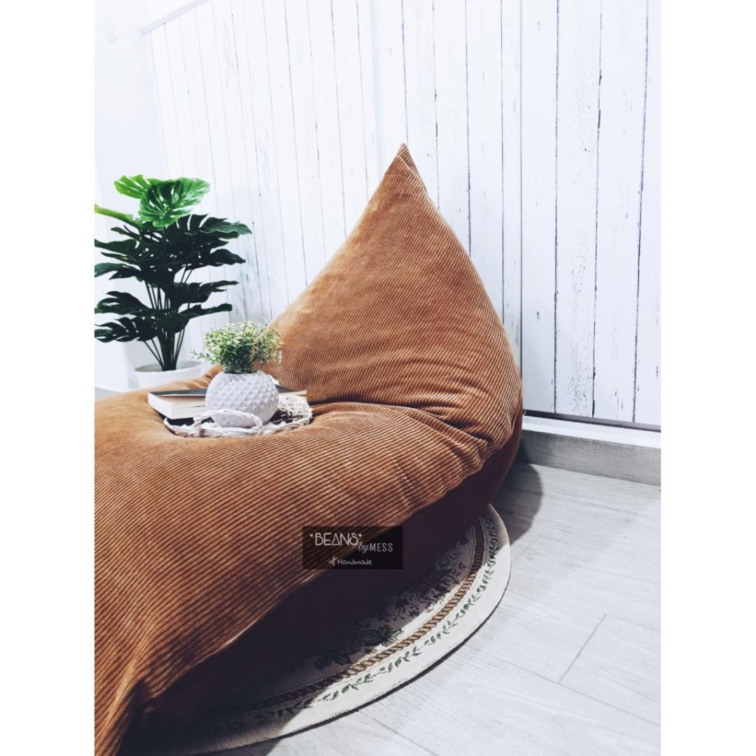 Phenomenal Bean Bag Lounger Beanbag Chair Beanbag Sofa Triangle Unemploymentrelief Wooden Chair Designs For Living Room Unemploymentrelieforg