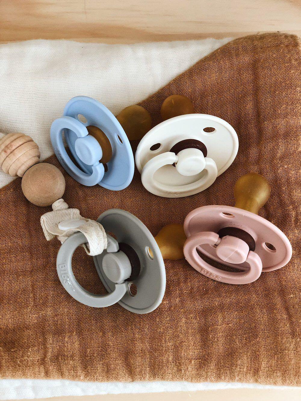 BIBS BPA-Free Natural Rubber Pacifier Soother