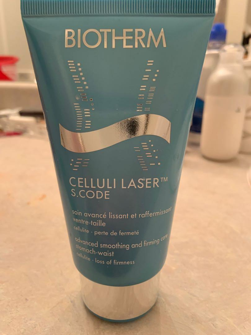 Biotherm celluli laser s code advanced smoothing and firming for stomach and waist. 150 ml