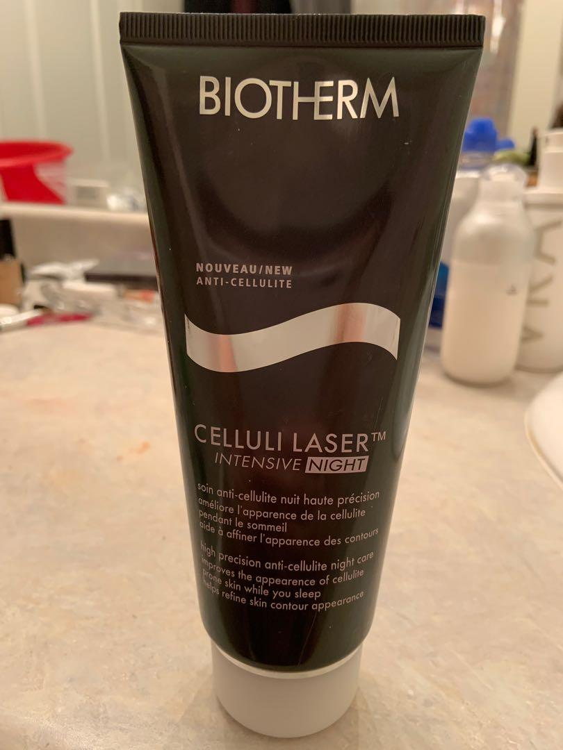 Brand new biotherm celluli laser intensive night. 200 ml. Retails for $65