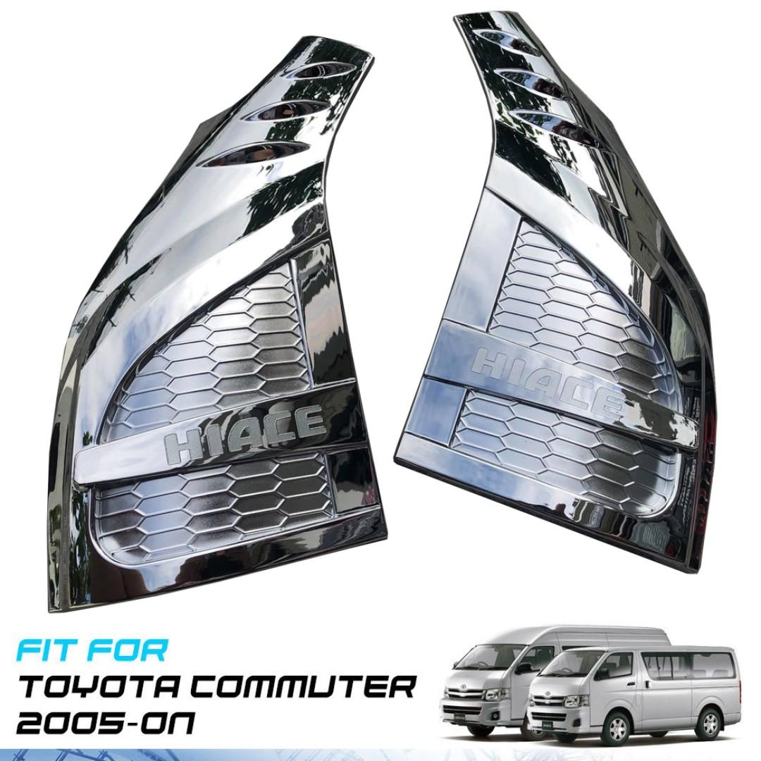 Chrome Smoothing Panel Cover Toyota Hiace Grandia and