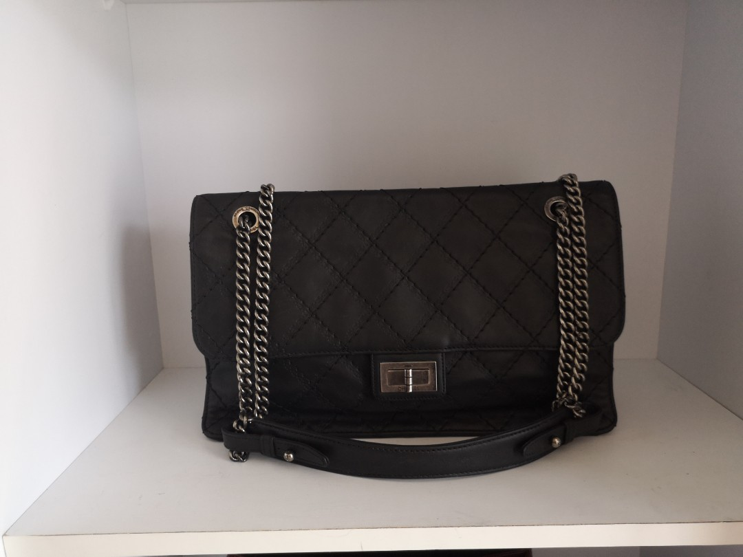 bd3ad3489f847a Full Set Chanel Reissue Flap, Luxury, Bags & Wallets, Handbags on ...