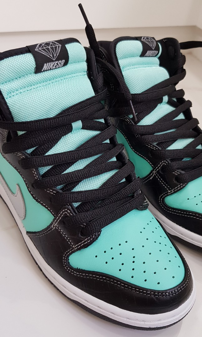 fd76c8f9c6 Diamond Supply Co. x Nike SB Dunk High Premium, Men's Fashion ...