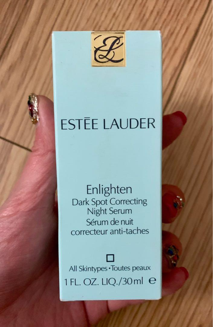 Estee Lauder- Enlighten Dark Spot Correcting Night Serum