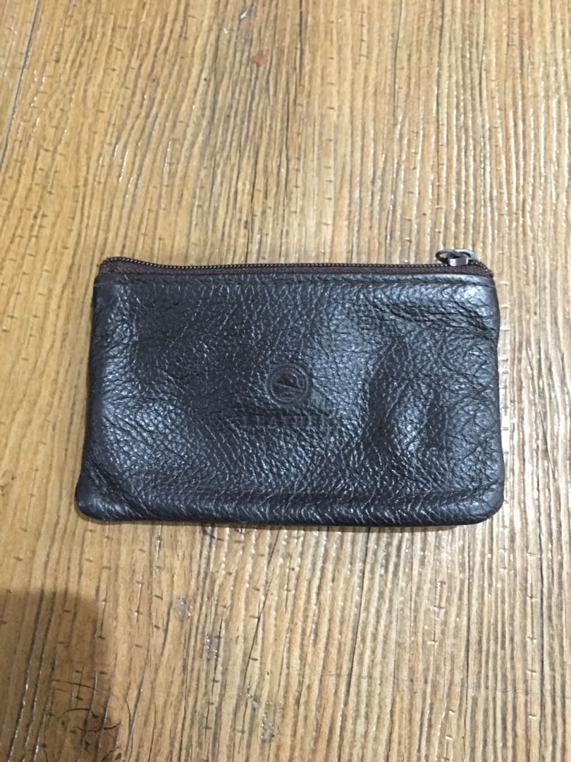 2c9399c44 Genuine Leather Coin Purse with Key Holder, Women's Fashion, Bags ...