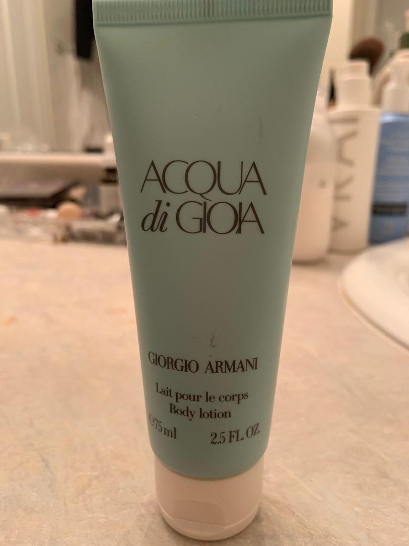 Giorgio Armani acqua do gioia body lotion. 75 ml. Brand new. Was part of fragrance set.