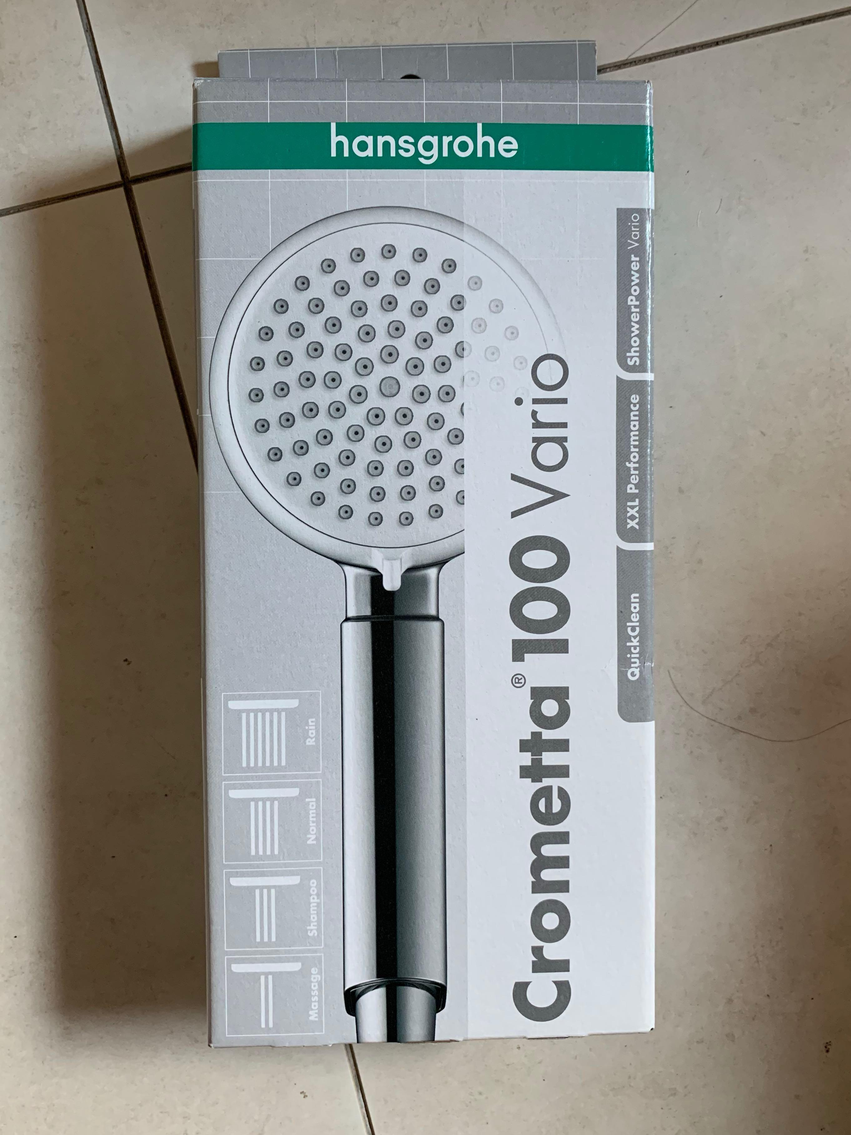 Hansgrohe Crometta 100 Vario Shower Head Everything Else On