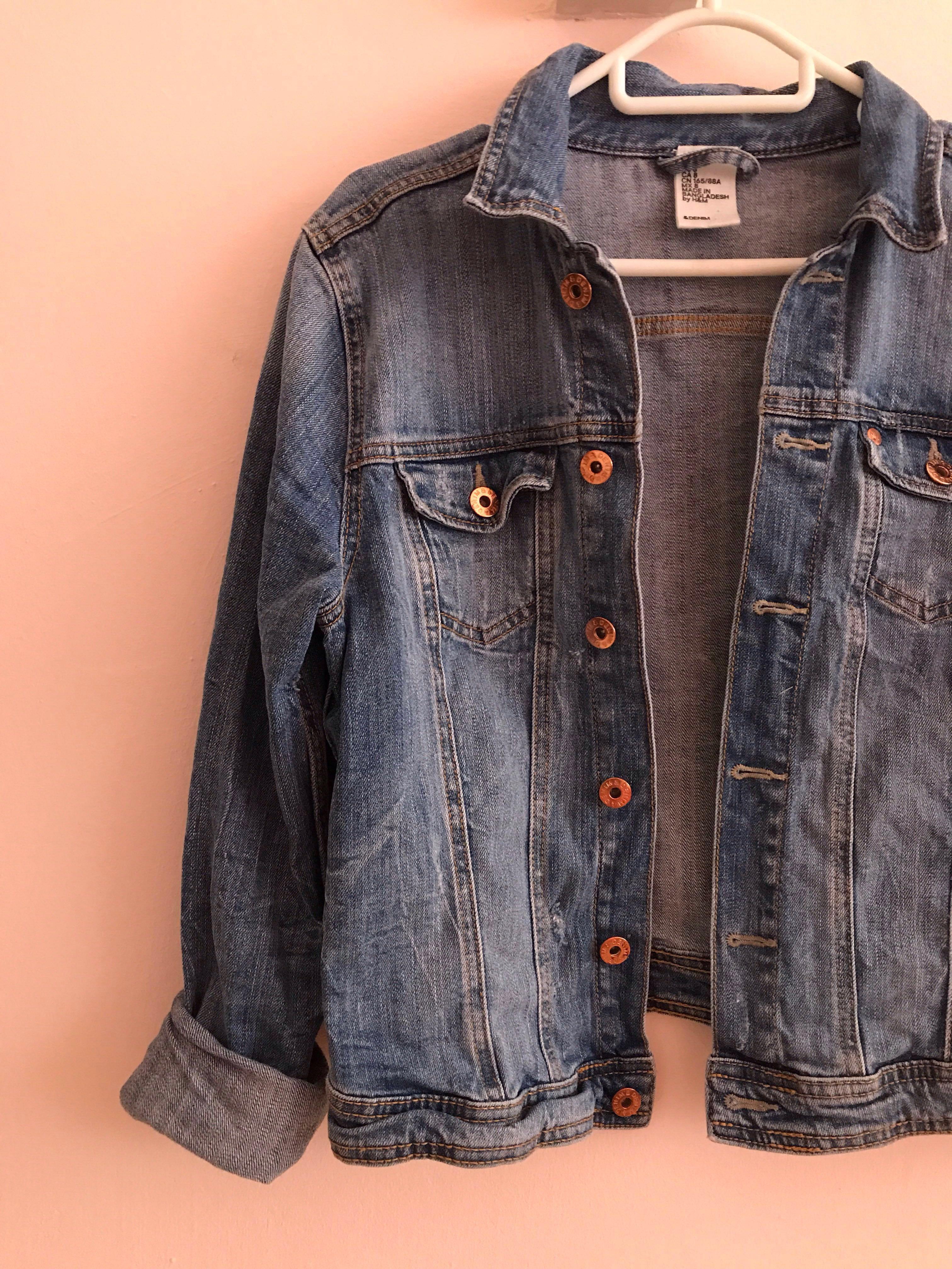 955a4f51a18 H M Denim Jacket