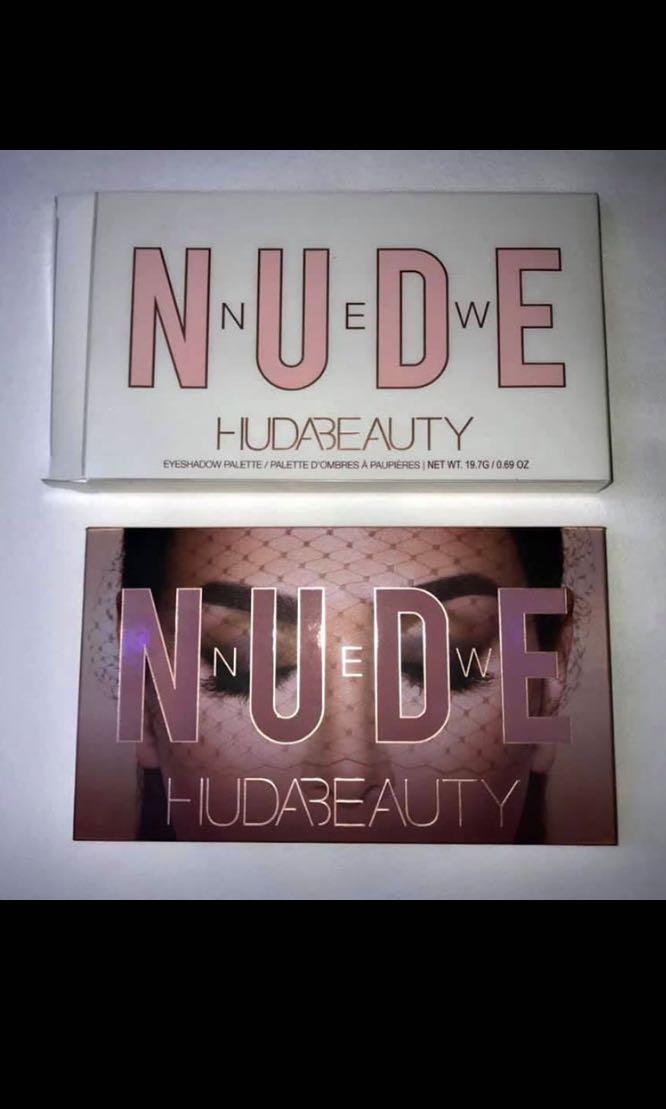 Huda Beauty Nude pallete