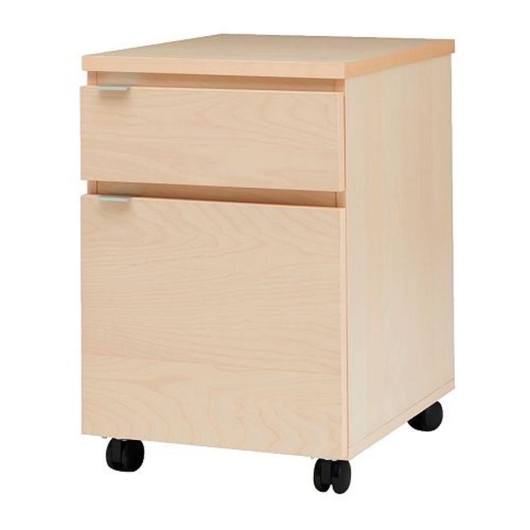 Ikea Jonas Drawer And Filing Cabinets