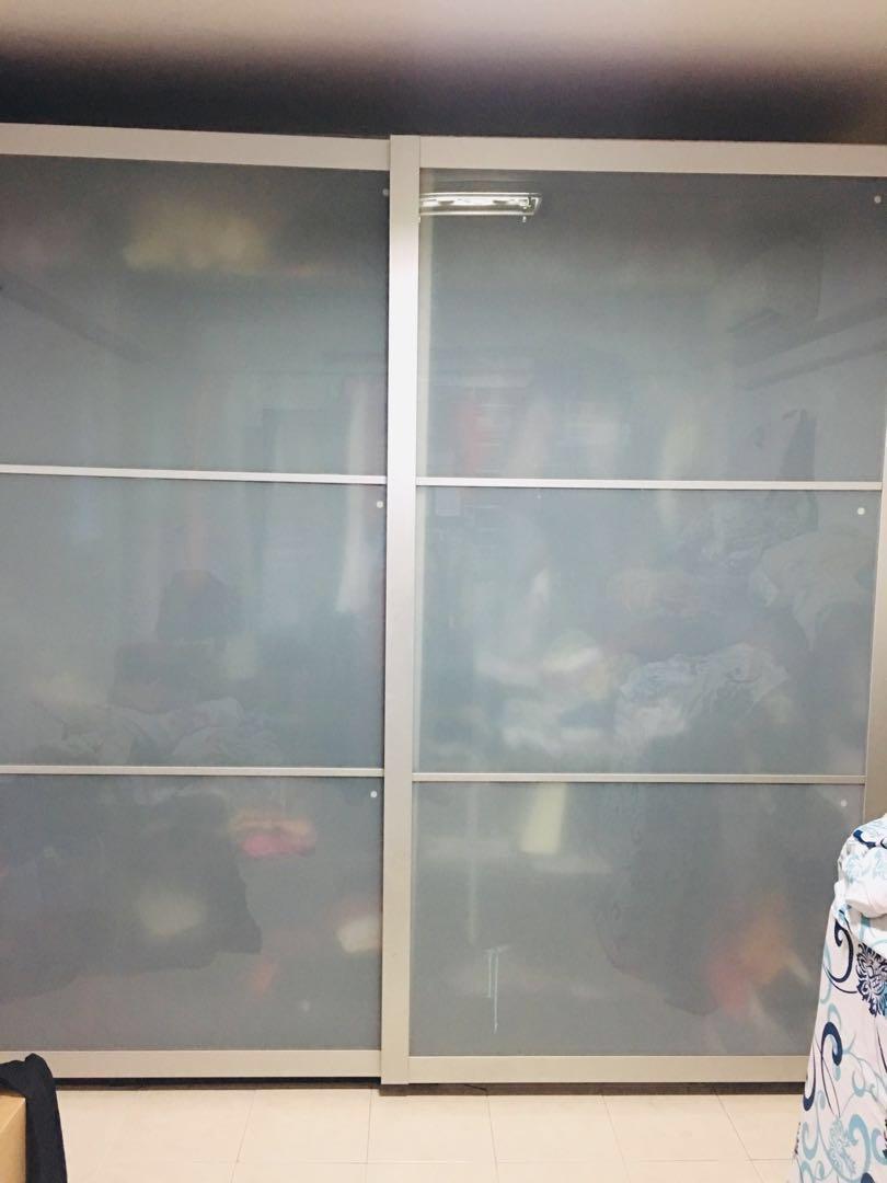 quality design cd8fd 05fec Ikea pax sliding doors, Furniture, Shelves & Drawers on ...