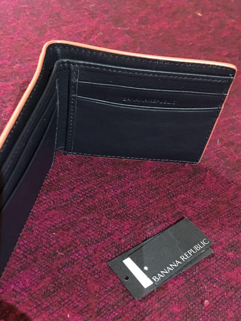 Leather wallet Banana Republic