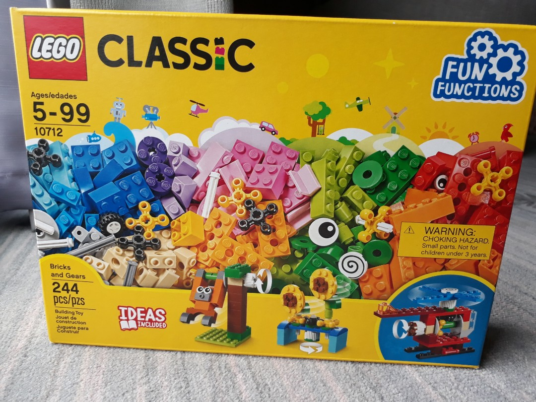 Lego classic fun functions, Toys & Games, Bricks & Figurines