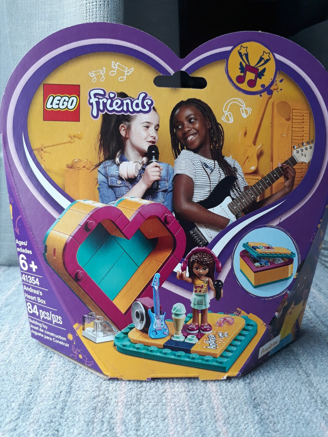 Lego Friends Andreas Heart Box Toys Games Bricks Figurines On