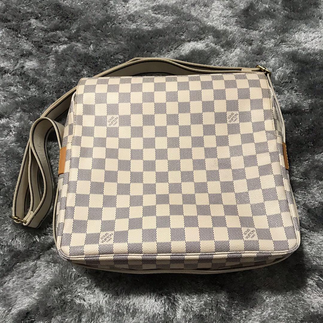 b4761df3f59c Louis Vuitton Sling Bag Naviglio Damier Azur
