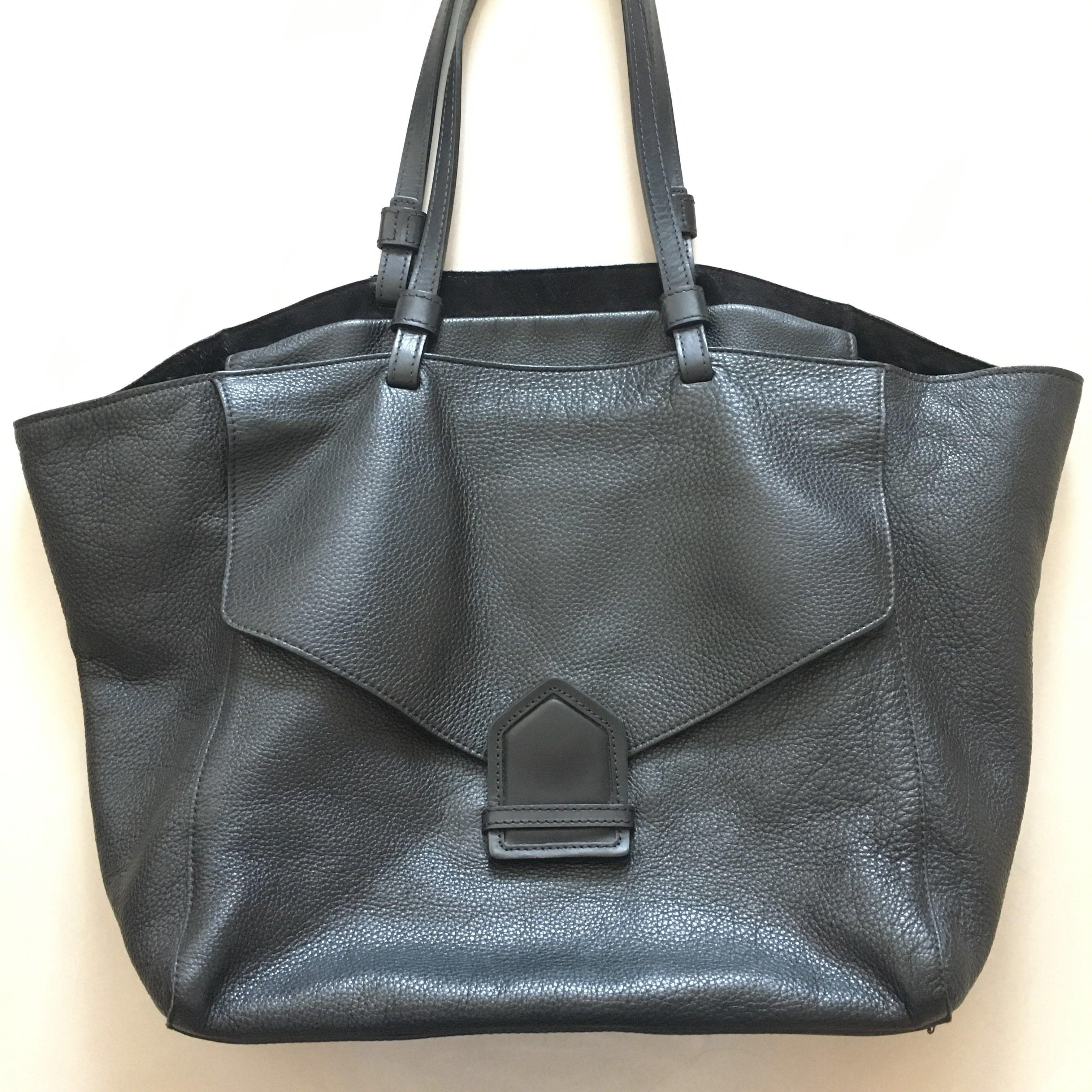 1ac2fb9ff4a Massimo Dutti leather tote bag, Luxury, Bags & Wallets, Handbags on ...