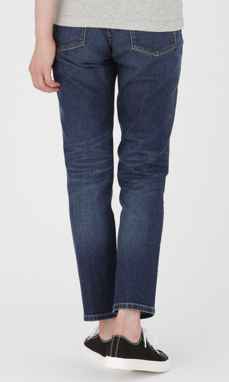 limited sale special buy select for clearance MUJI organic cotton stretch denim boy fit jeans, Women's ...