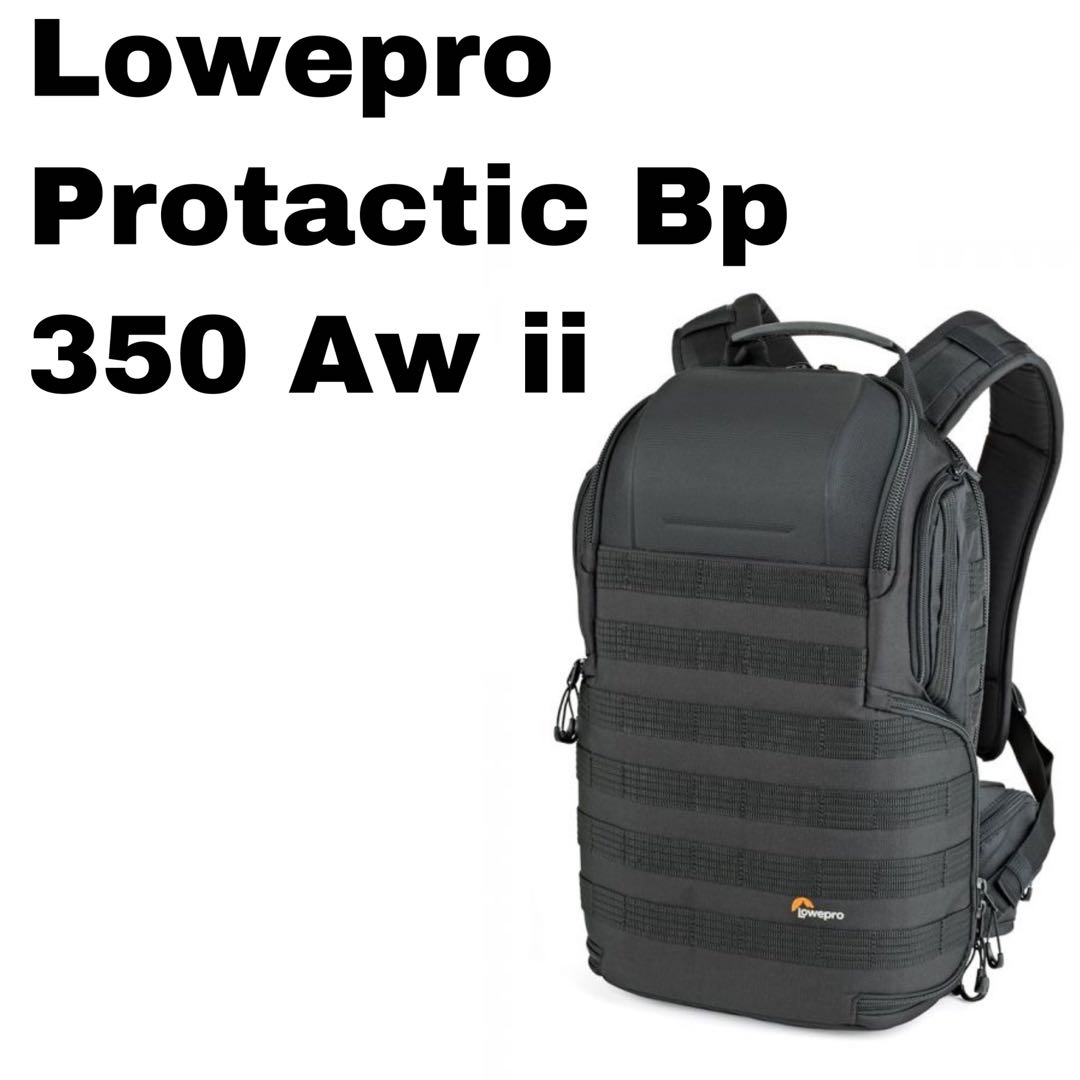 896774bd25 New model Lowepro ProTactic BP 350 AW II Camera and Laptop Backpack ...