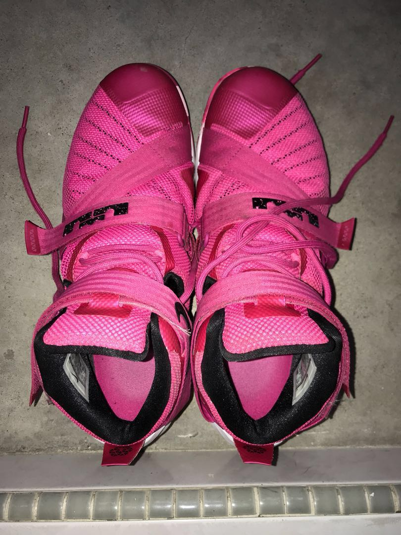 a67a90d1b50 Nike lebron soldier 9 Breast Cancer Awareness ( Pink ) Us-11.5 ...