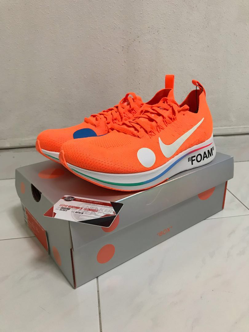 589fe2091040 Off-white x Nike Zoomfly Mercurial