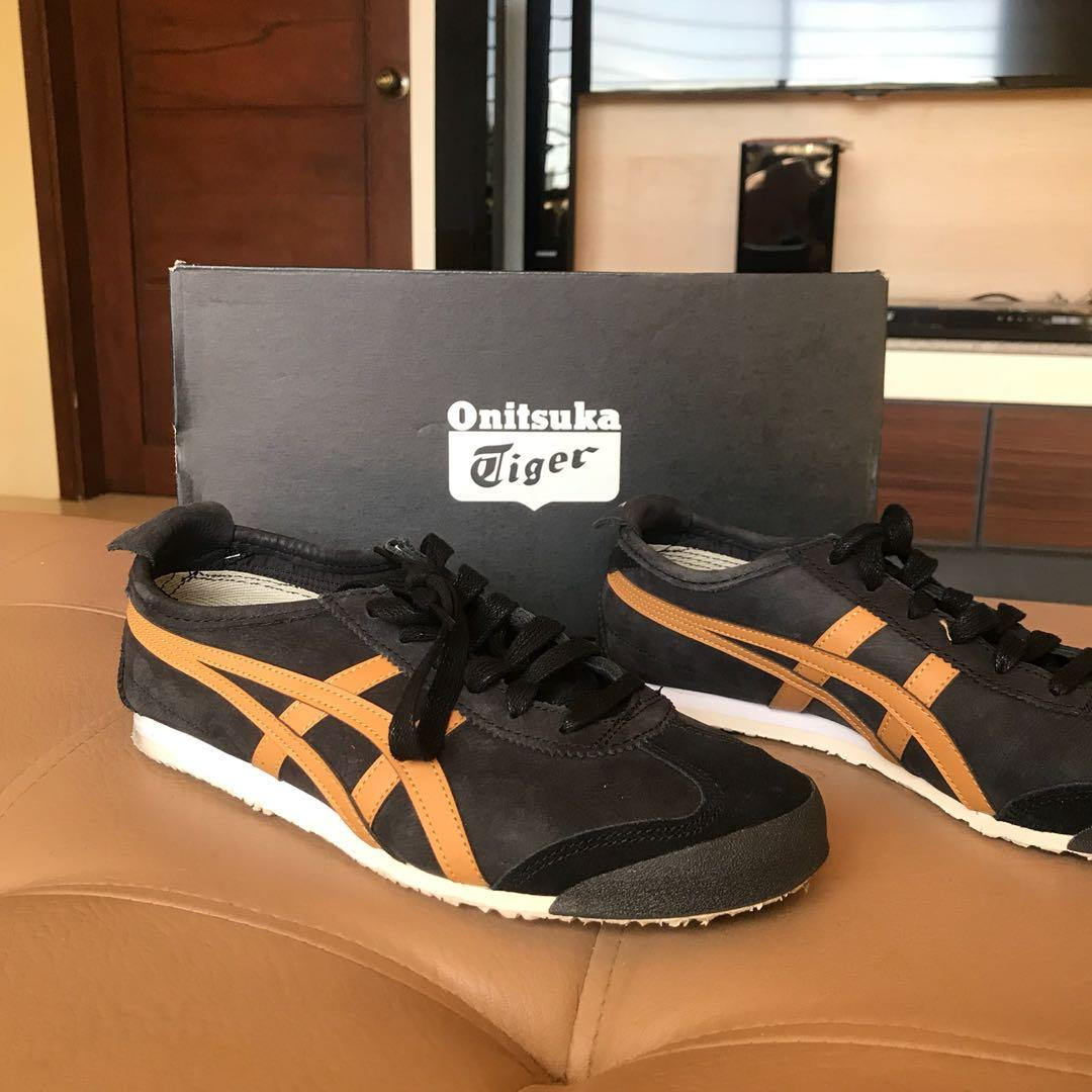 size 40 1fa89 1b3f9 Onitsuka tiger mexico 66 black caravan on Carousell