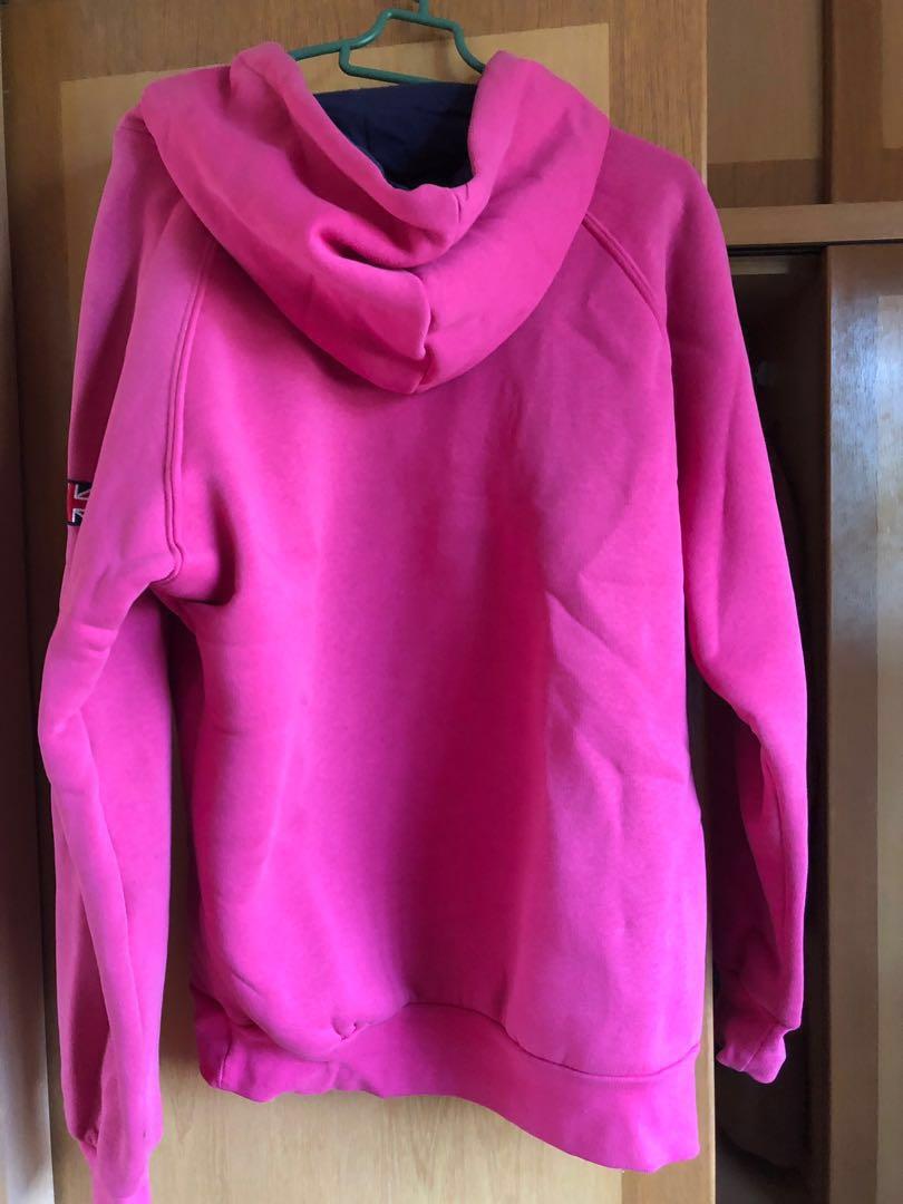 Oxford Sweater Hoodie (Hot Pink)  c8cbd149f9