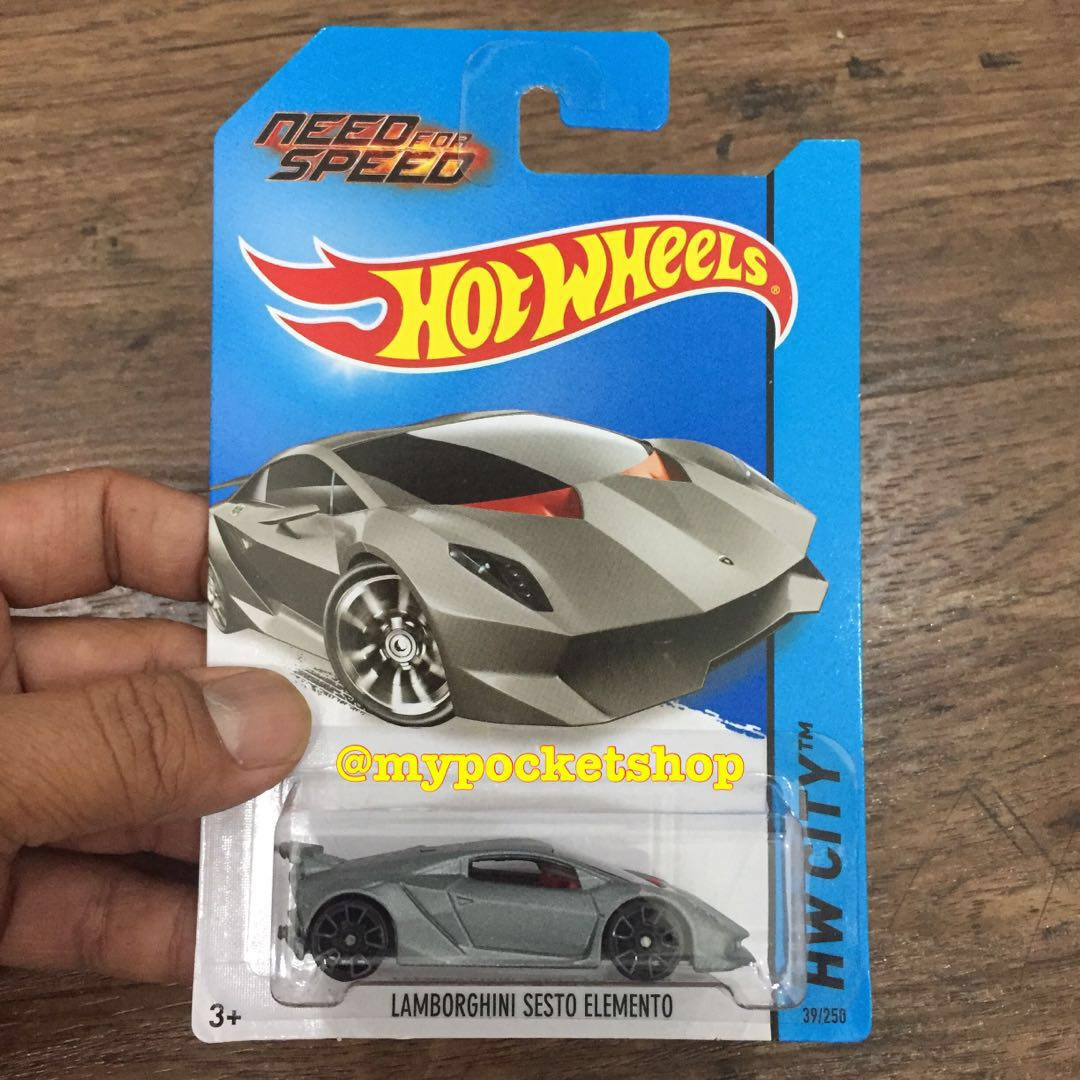 Pending Hot Wheels Lamborghini Sesto Elemento Need For Speed
