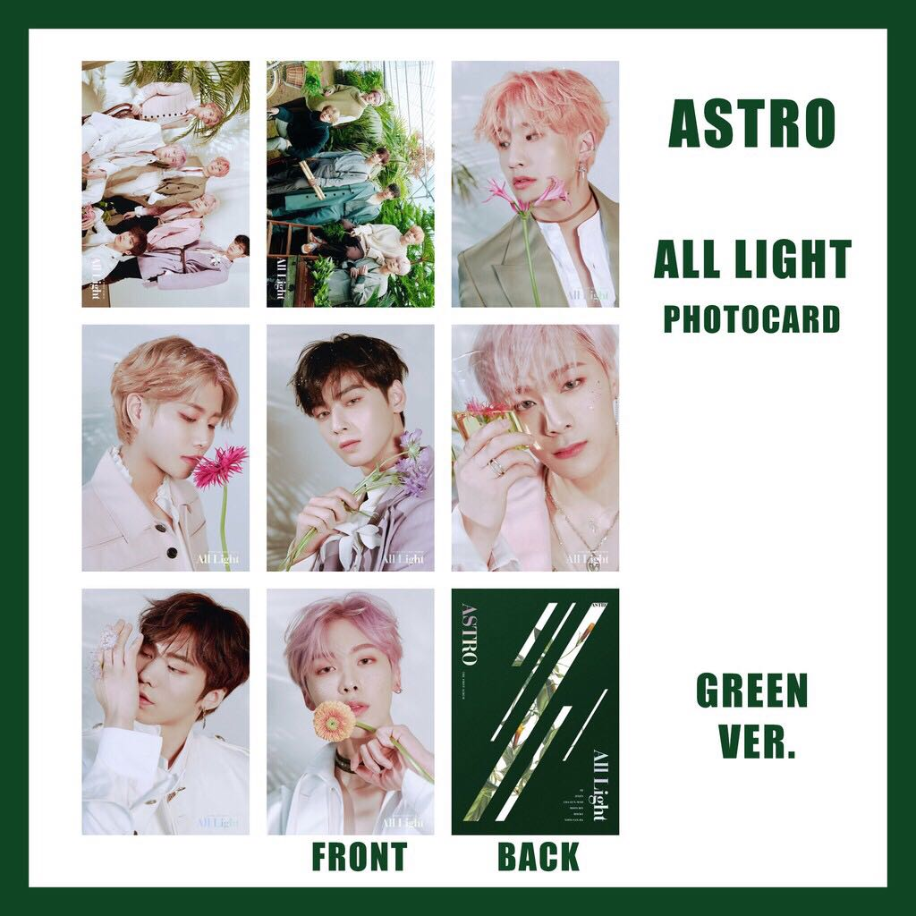 PO - ASTRO ALL LIGHT UNOFFICIAL PHOTOCARD