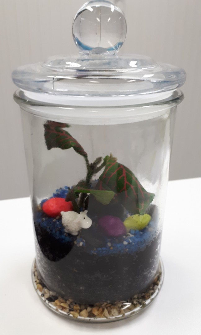 Small Terrarium 18cm Tall Gardening Pots Planters On Carousell