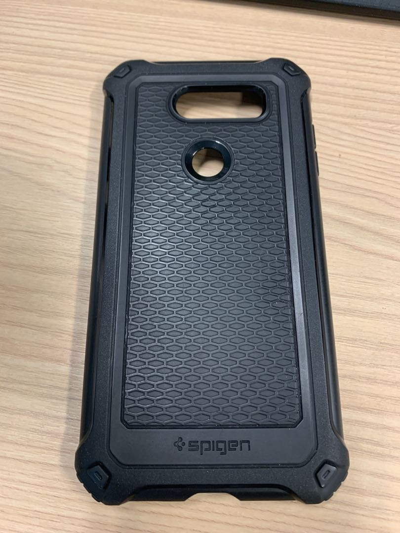 new product c9a60 e8a45 Spigen LG V30 Rugged Armor Extra case
