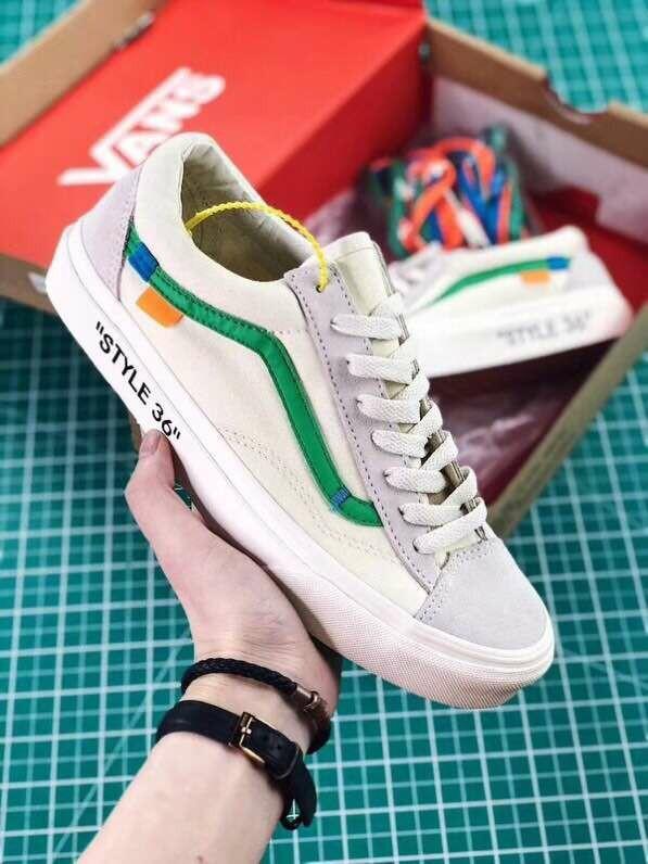 5cc761fd82 PO  Vans Old Sookl off-white Style 36 men s   women s shoes