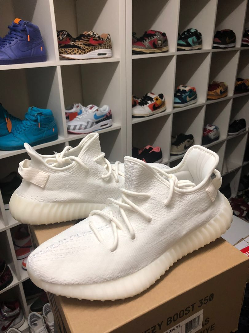 """uk availability f6712 fb773 Yeezy Boost 350 """"Triple White"""". RETAIL PRICE!!!"""