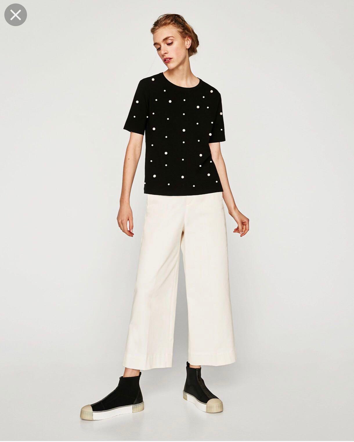 fbb9fda76cc72 🌼zara top🌼 women fashion clothes tops on carousell jpg 1220x1524 Zara tops