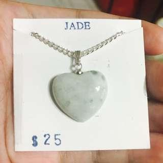 Heart Jade Necklace BLC14161