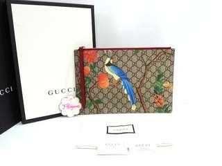 Authentic BNIB Gucci Tian GG Supreme Clutch {{Only For Sale}} ** No Trade ** {{Fixed Price Non-Neg}} ** 定价 **