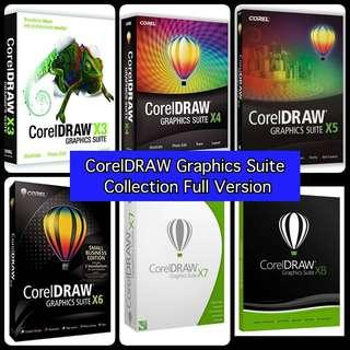 CorelDRAW Graphics Suite Full Version (6in1) DVD