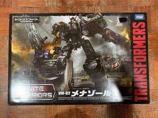 Transformers UW-02 Decepticon Stunticons Combiner Menasor (Unite Warriors)