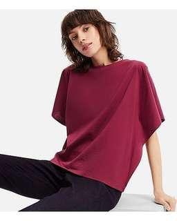 Uniqlo WOMEN Mercerized Cotton Short Sleeve T-Shirt