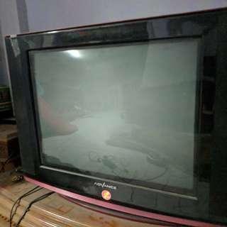 """TV 19"""" Advance Tabung, Slim flat"""