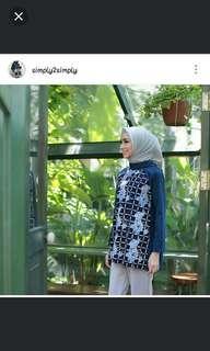 Atasan batik by simply2simply