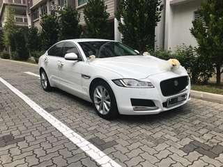 Jaguar XF Wedding Car Rental w/ Driver